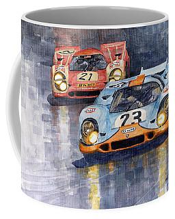 Porsche 917k 1000km Zeltweg Austria 1970  Coffee Mug