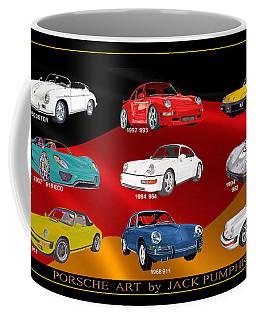 Porsche Times Nine Coffee Mug