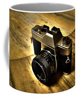 Coffee Mug featuring the photograph Porst Flex Slr by Salman Ravish