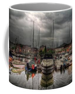 Port At Como Lake Coffee Mug