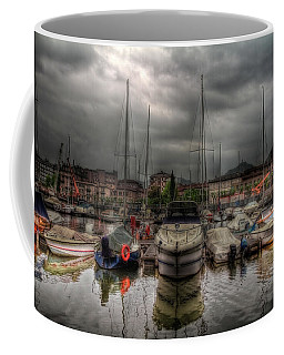 Port At Como Lake Coffee Mug