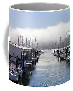 Coffee Mug featuring the photograph Port Kingston Marina by Greg Reed