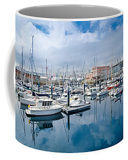 Port Of Coruna Coffee Mug