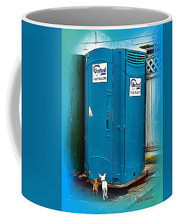 Porta Puppy Potty... Coffee Mug