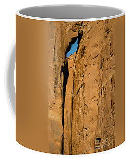 Portal Through Stone Coffee Mug by Jeff Kolker