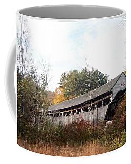 Porter Covered Bridge Coffee Mug by Catherine Gagne