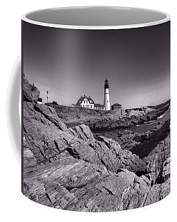 Portland Head Light Coffee Mug by Elizabeth Dow
