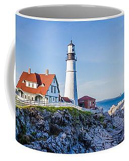 Portland Head Light House Cape Elizabeth Maine Coffee Mug