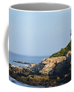 Portland Head Light In Summer Coffee Mug
