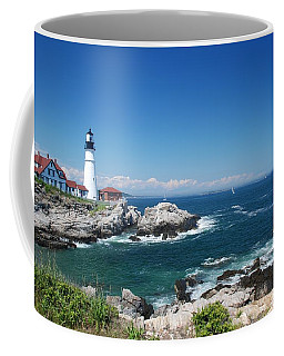Portland Head Lighthouse Coffee Mug by Allen Beatty