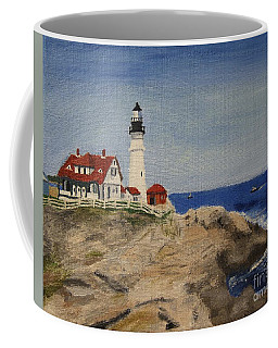 Portland Head Lighthouse In Maine Coffee Mug