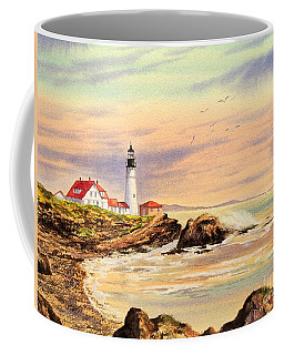 Portland Head Lighthouse Maine Coffee Mug