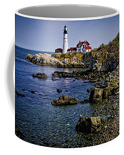 Portland Headlight 37 Oil Coffee Mug