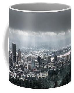 Portland Oregon After A Morning Rain Coffee Mug