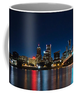 Portland Oregon Nightscape Coffee Mug