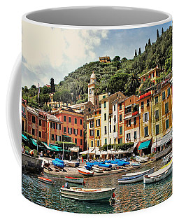 Portofino Harbor 2 Coffee Mug