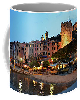 Portovenere At Night Coffee Mug