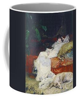 Portrait De Sarah Bernhardt Coffee Mug