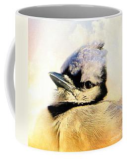 Portrait Of A Blue Jay Coffee Mug