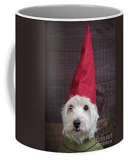Portrait Of A Garden Gnome Coffee Mug