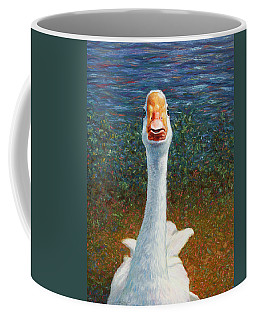 Portrait Of A Goose Coffee Mug