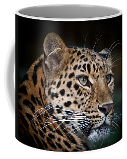 Portrait Of A Leopard Coffee Mug