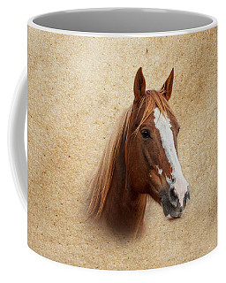 Portrait Of A Mare Print Coffee Mug