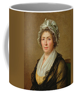 Portrait Of A Woman, Or The Governess Of The The Artists Children Oil On Canvas Coffee Mug