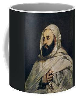 Portrait Of Abd El-kader Coffee Mug