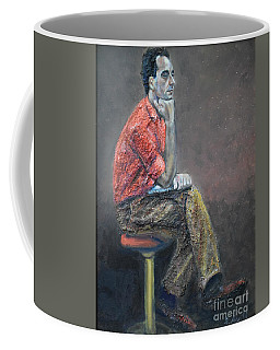 Portrait Of Ali Akrei - The Painter Coffee Mug