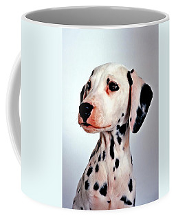 Portrait Of Dalmatian Dog Coffee Mug
