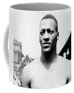 Portrait Of Jesse Owens Coffee Mug