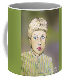 Portrait Of Justin Age 9 Coffee Mug