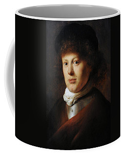 Portrait Of Rembrandt 1606-1669 By Jan Lievens 1607-1674 Coffee Mug