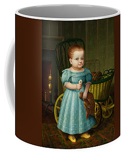 Portrait Of Sally Puffer Sanderson Coffee Mug