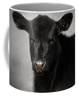 Portrait Of The Black Angus Calf Coffee Mug