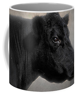 Portrait Of The Black Angus Coffee Mug