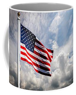 Portrait Of The United States Of America Flag Coffee Mug