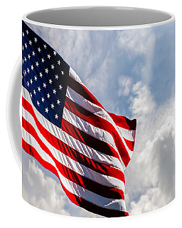 Portrait Of The United States Of America Flag Coffee Mug