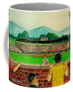 Portsmouth Athletics Vs Muncie Reds 1948 Coffee Mug by Frank Hunter