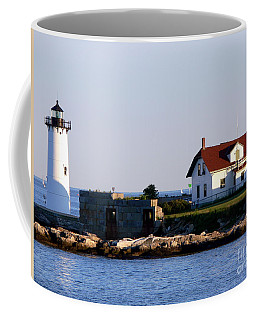 Portsmouth Harbor Light Coffee Mug by Kevin Fortier