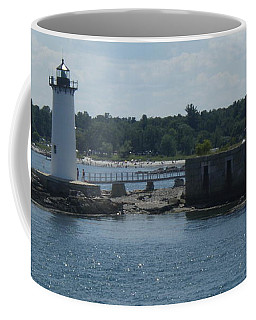 Portsmouth Harbor Lighthouse Coffee Mug by Robert Nickologianis