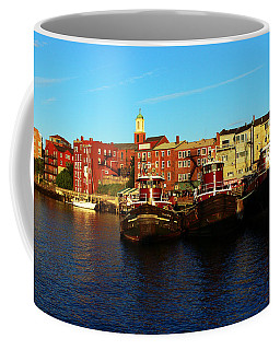 Portsmouth In The Afternoon Coffee Mug by Kevin Fortier