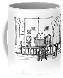 Portsmouth Island Chapel 1970s Coffee Mug