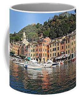 Coffee Mug featuring the photograph Porttofino - Italy by Antonio Scarpi