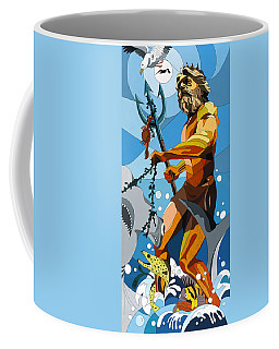 Poseidon - W/hidden Pictures Coffee Mug