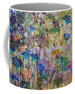 Posies In The Grass Coffee Mug