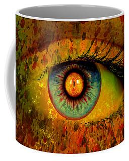 Possessed Coffee Mug by Ally  White