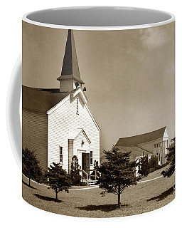 Post Chapel And Red Cross Building Fort Ord Army Base California 1950 Coffee Mug