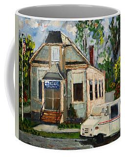 Post Office At Lafeyette Nj Coffee Mug